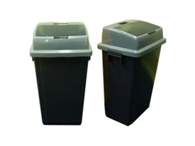 NAPPY DISPOSAL UNIT DARK GREY 40L