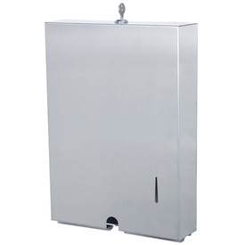 Stainless Steel Paper Towel Dispenser - Ultra-slim