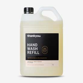 Hand Wash Refill - Botanical Sweet Orange & Almond | 5L