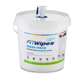 Antibacterial Wow Wipes Dispenser Bucket with Maxx-Pack 1200 Roll