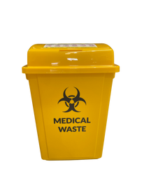 YELLOW MEDICAL/CLINICAL WASTE UNIT