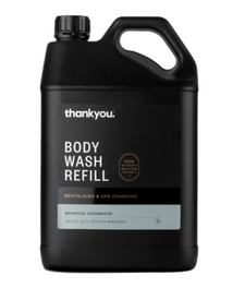 Thankyou Cedarwood Body Wash | 5L Refill