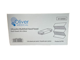 Oliver Medical Ultraslim Multifold Hand towel
