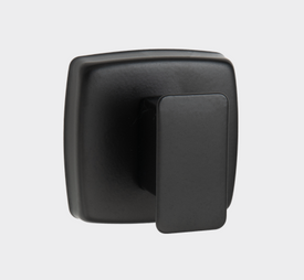 ROBE HOOK, SINGLE – SURFACE MOUNTED, CONCEALED