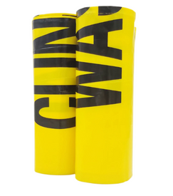 75 L Yellow Clinical Waste Bags Roll, 25 Bags