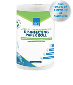 Aeris Active Hard Surface Disinfecting Paper Roll