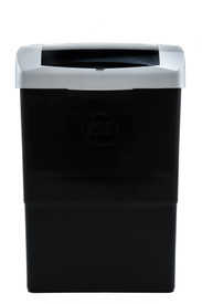 """BLACK SILVER AUTOMATIC """"TOUCH FREE"""" SANITARY UNIT"""