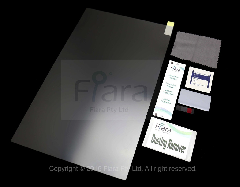 15.4 inch - Fiara Laptop / NoteBook Anti Blue Light Screen Filter / Protector | Self-Adhesive Film