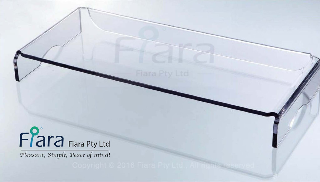 Fiara Stylish & Heavy Duty PC Riser, Monitor Stand | W535 x H80 x D260mm - Stand Thickness 8.0mm)