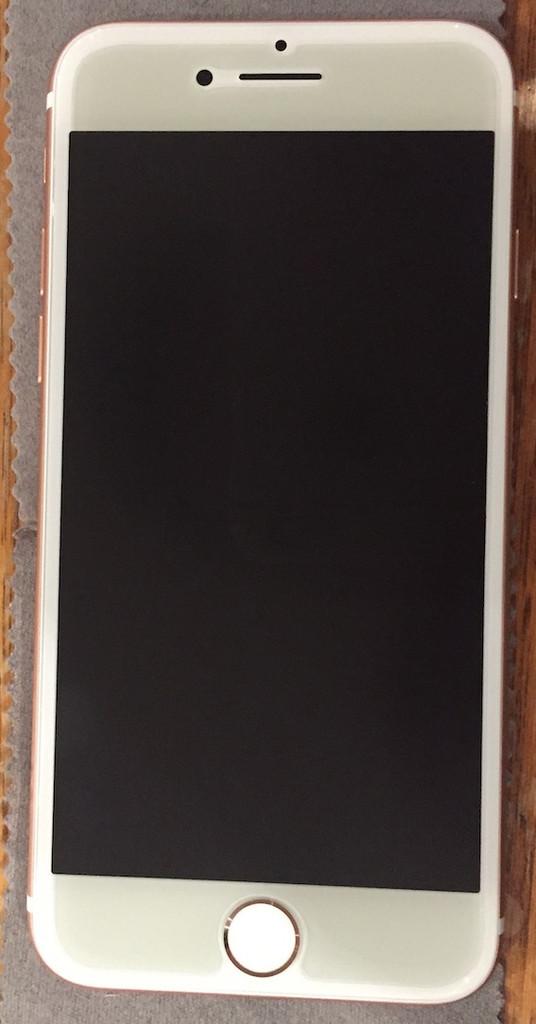"Fits Apple iPhone 7 Plus/8 Plus (5.5"" inch) - Fiara Anti Blue Light Screen Protector / Filter | Self-Adhesive Film"