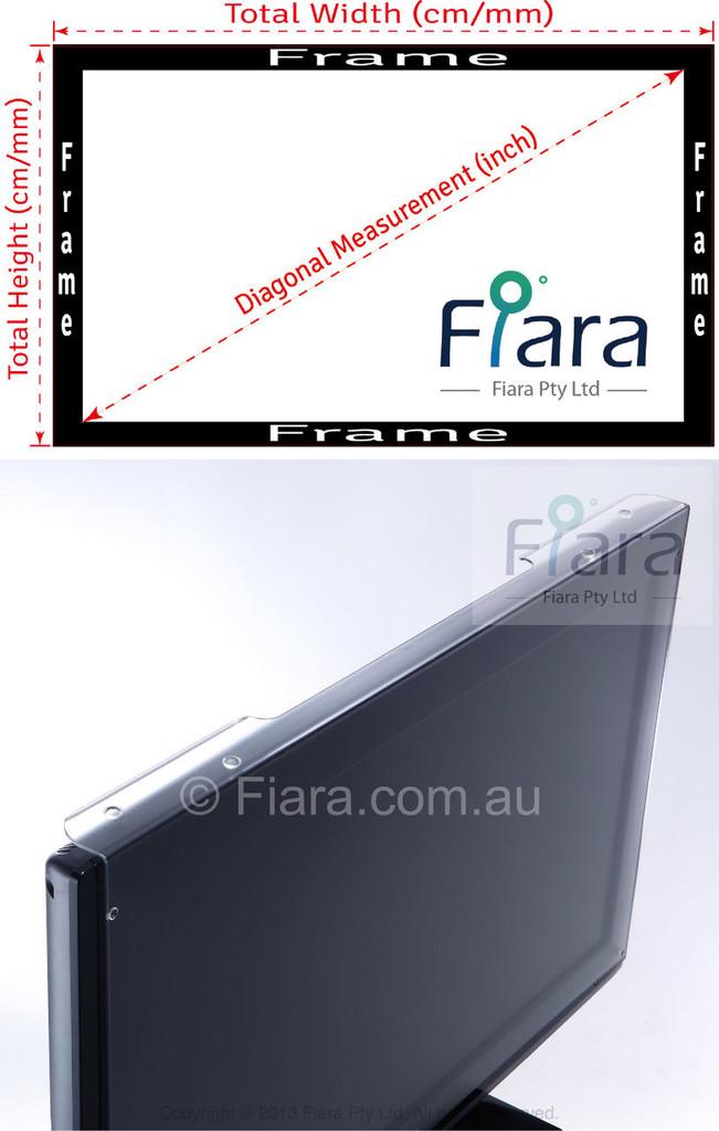 Fits 60-inch Slim Frame TV | Fiara Anti Blue Light Screen Protector / Filter