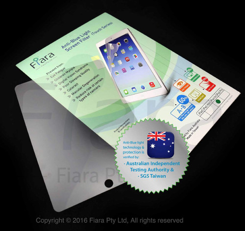 12.9 inch - Fiara iPad Anti Blue Light Screen Protector / Filter | Self-Adhesive Film (with Home Button)