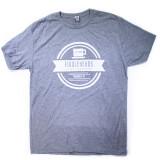 Grey Fiddleheads Logo T-shirt