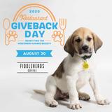 "Wisconsin Humane Society- ""Giveback Day"""