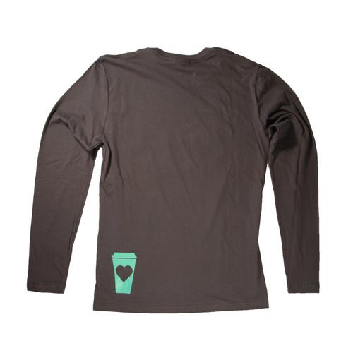 Coffee Cup Long Sleeve T Shirt