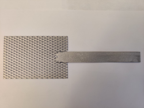 "Platinum Mesh Anode, 2"" by 3"""