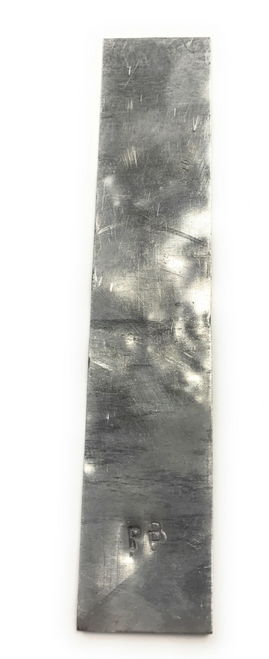 """Lead Electrode (98+%), 2"""" x 6"""" by 1mm thick"""