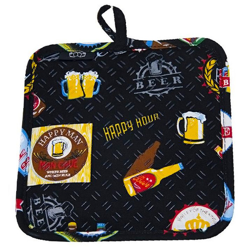 Beer  Lovers Silicone Potholder