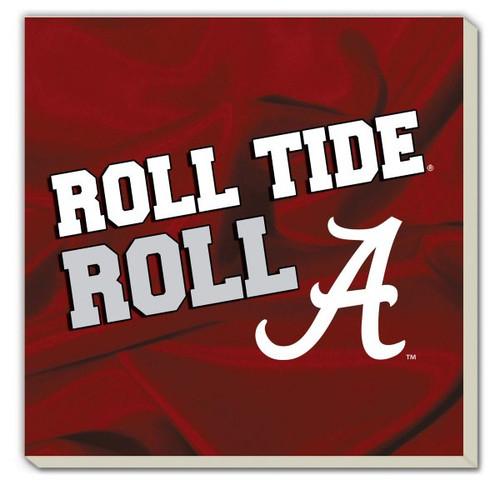 Alabama  Roll Tide Stoneware Coaster Set