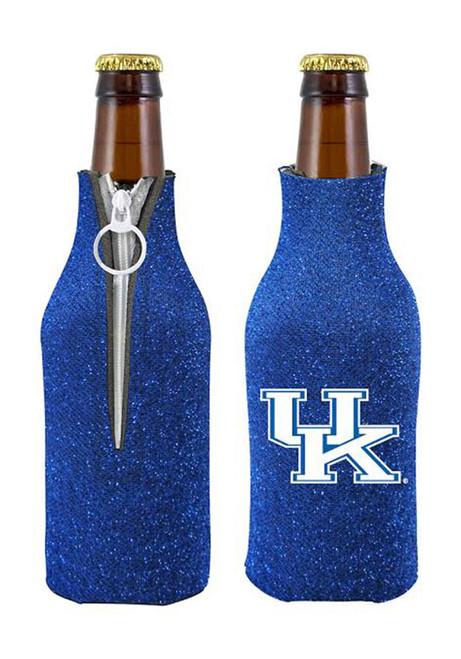 University of Kentucky Blue Glitter Bottle Koozie Holder