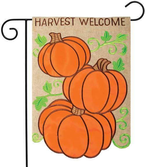Harvest Welcome Garden Flag
