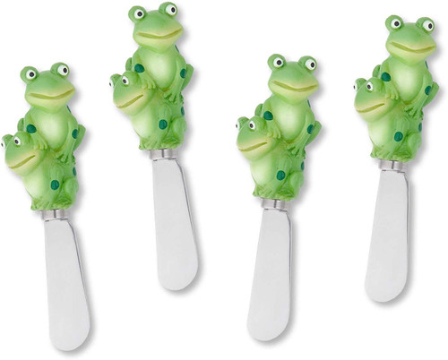 Frog Cheese Spreader Set