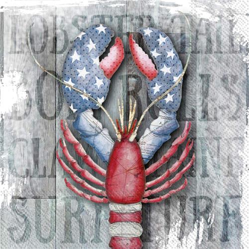 Seaside Lobster Luncheon Napkin