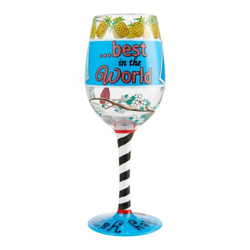 Carolina Girl Lolita Stemmed Wine Glass