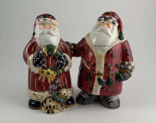 Santa's Spirit Holiday Salt and Pepper Set