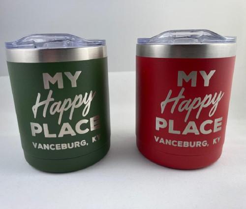 My Happy Place Vanceburg KY Drink Tumbler