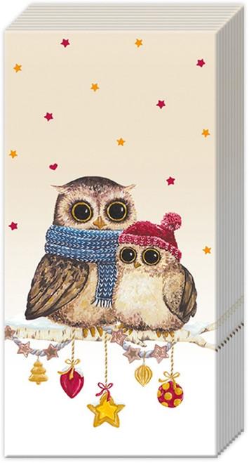 Holiday Owl Mummy & Me Pocket Facial Tissue