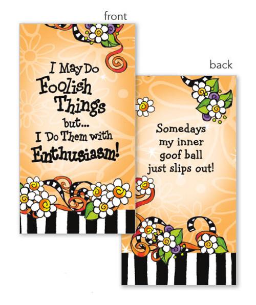 Foolish Things Ladies Pocket Facial Tissue