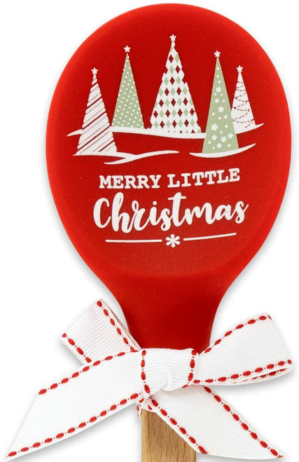 Merry Little Christmas Holiday Mixing Spoon