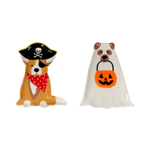 Halloween Trick or Treat Dog Spoon Rest