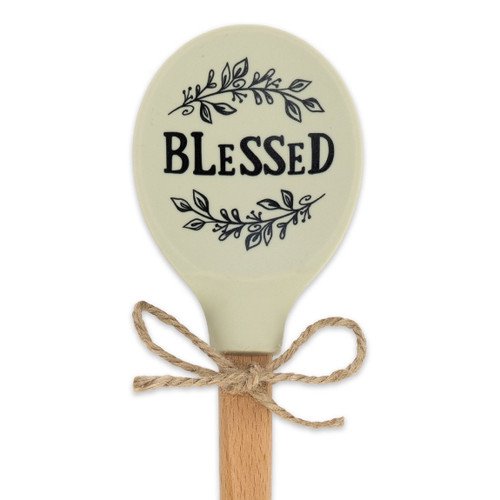 Blessed Silicone Mixing Spoon