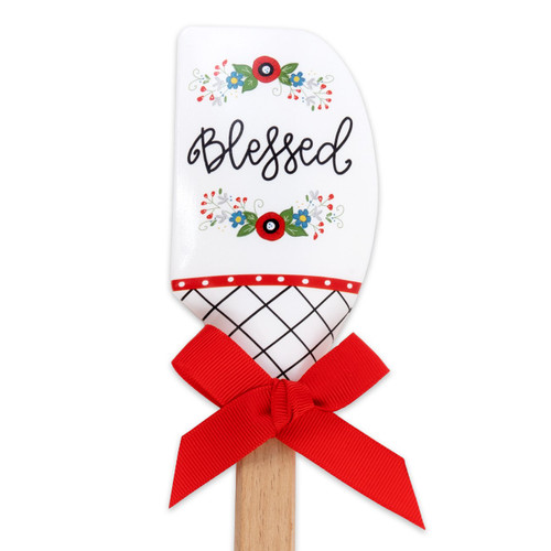Blessed Silicone Mixing Spatula