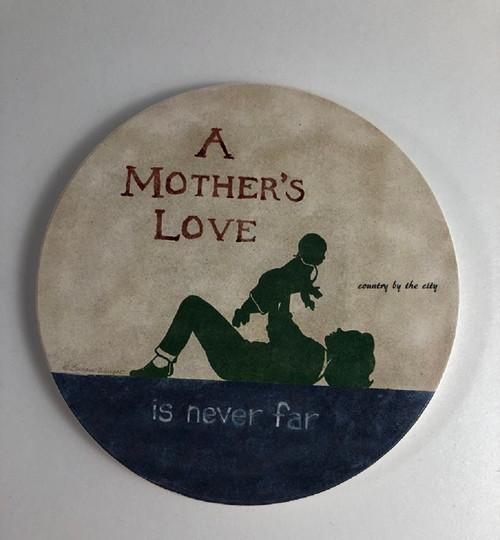 A Mother's Love Stoneware Coaster Set