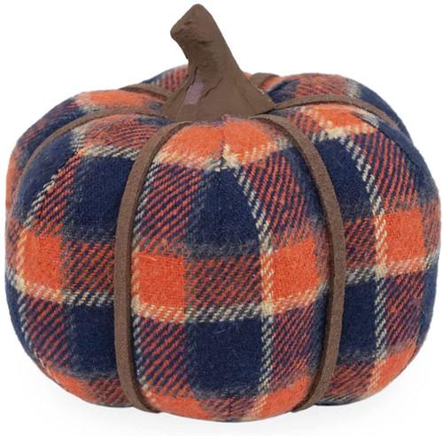 Fall Decor Miniature Fabric Pumpkin