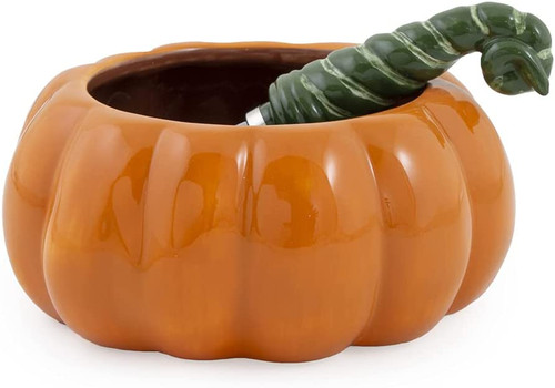 Fall All Over Autumn Dip Bowl & Cheese Spreader