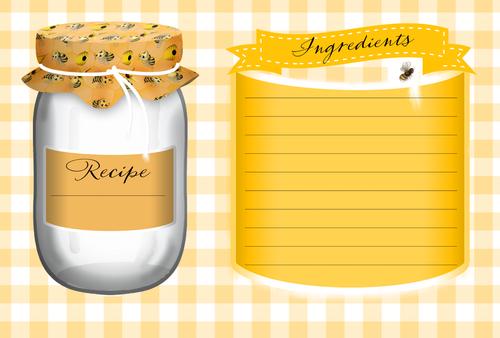 Mason Bee Recipe Card