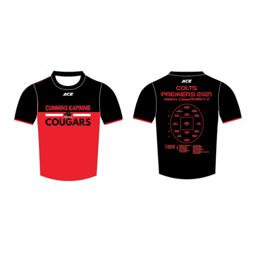Cougars Snr Colt Premiers Training Tee