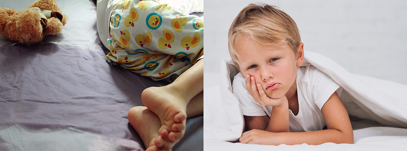 Bedwetting can happen to any child