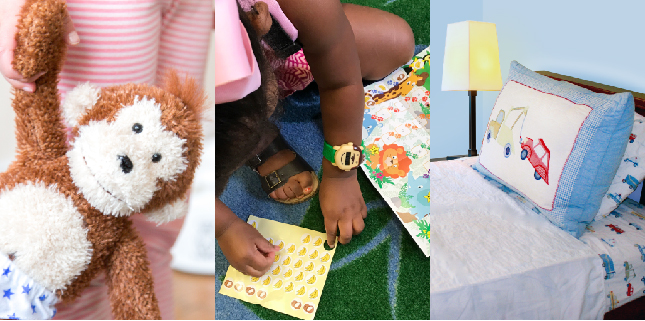 Potty Monkey, Potty Monkey Watch, & Wet-Stop mattress pad