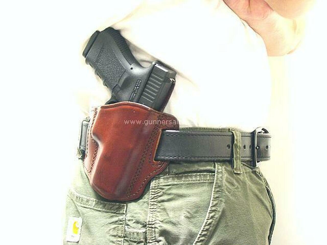 RH Model - Shown on the Belt with a Glock 19 for Demonstration Purposes - Right Hand