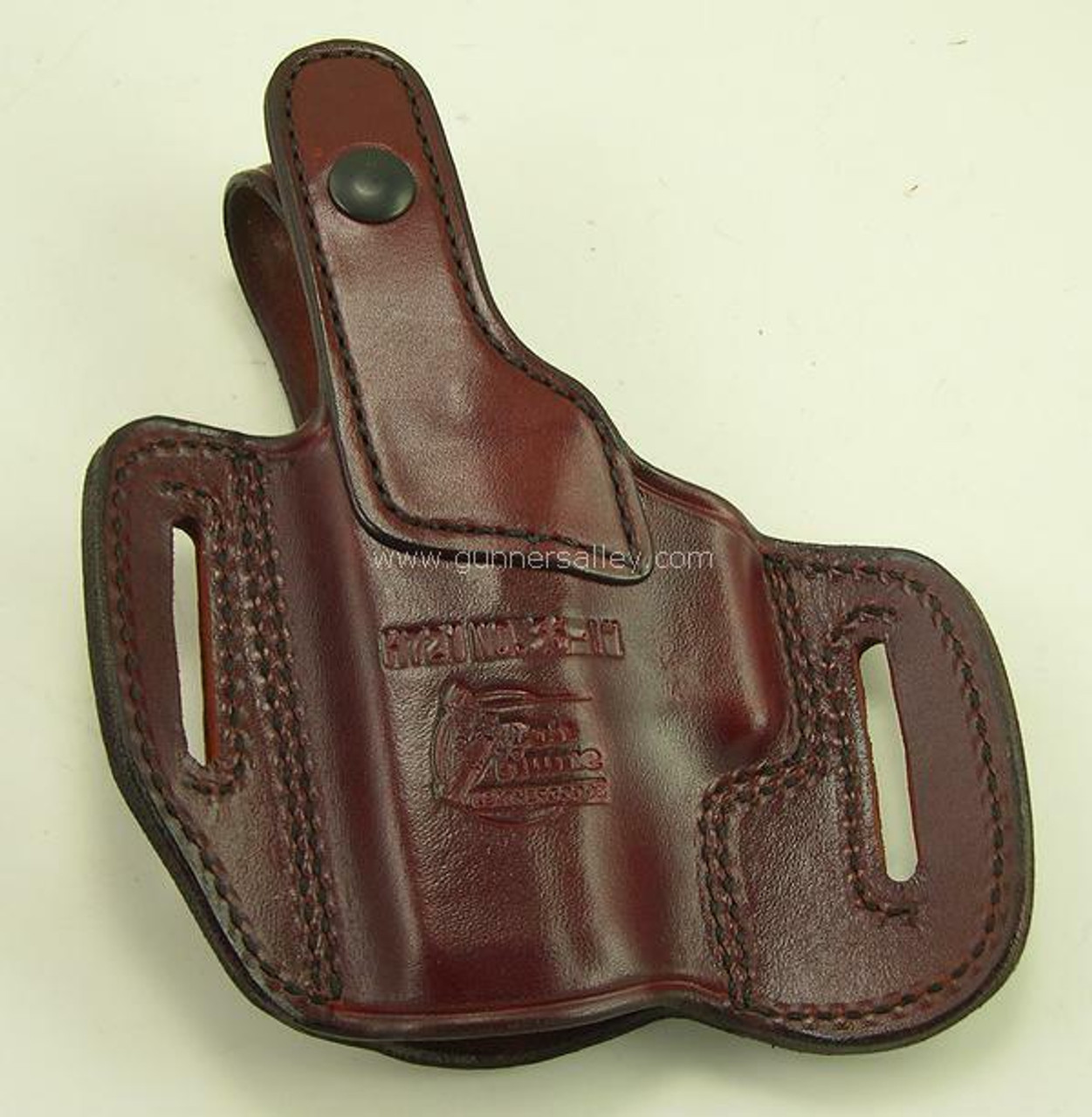 Shown in Saddle Brown for the Glock G26 - rear view