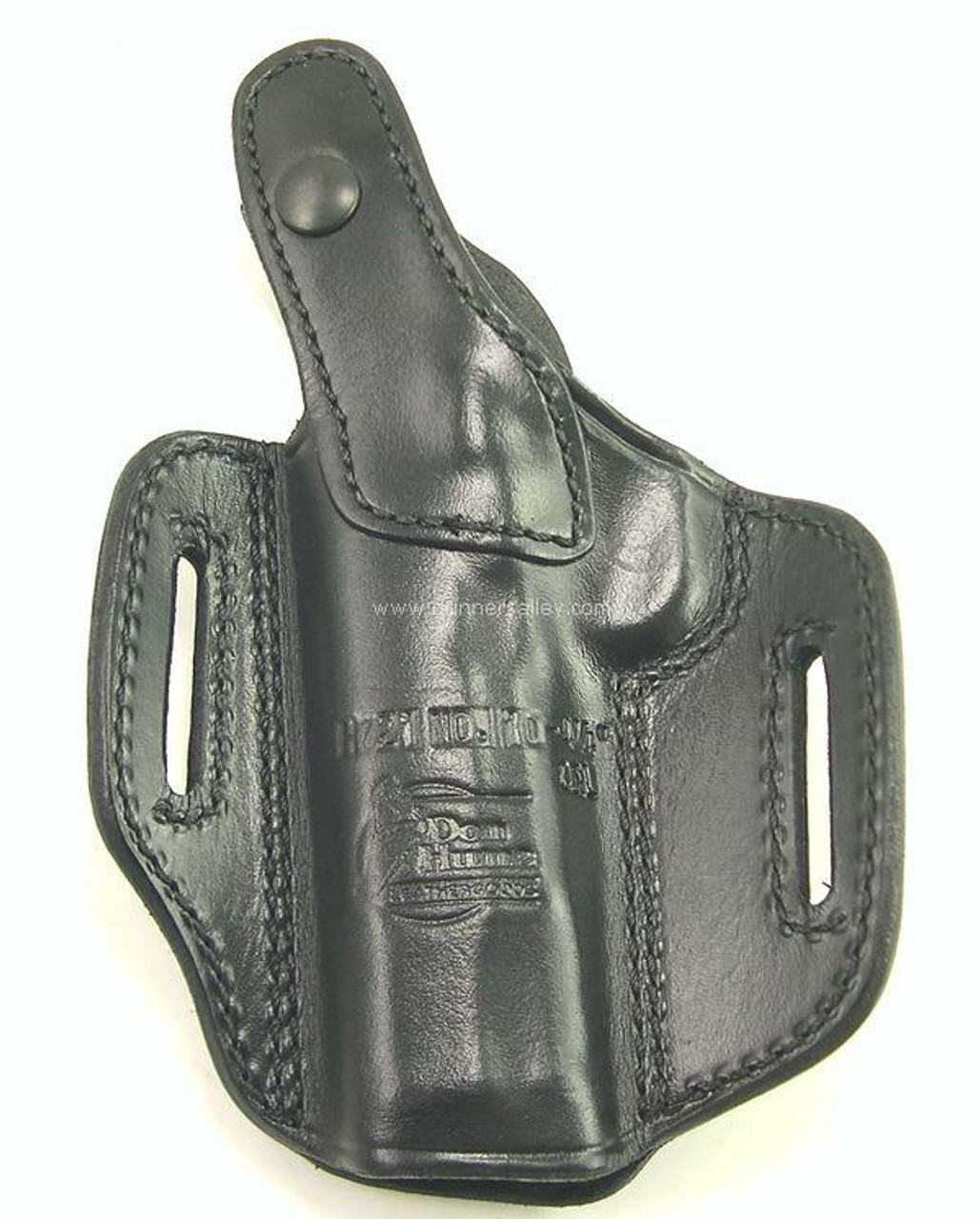 Shown in Black for a 1911 Commander (4.25 inch barrel) - rear view