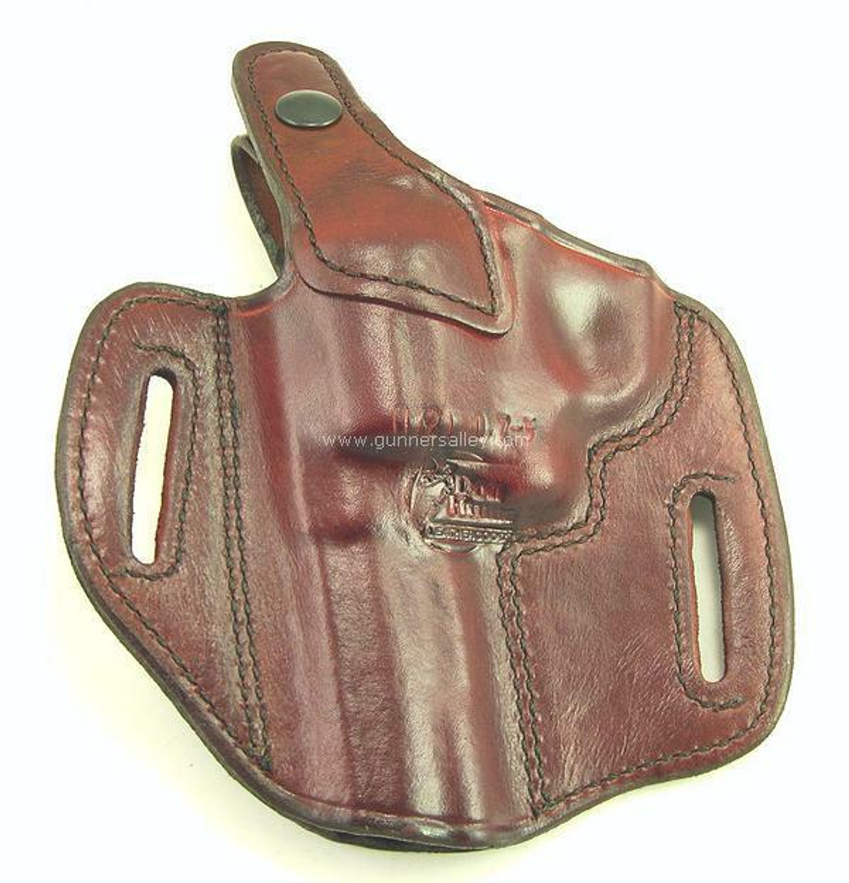 Shown in Saddle Brown for a S&W L Frame with 3 inch barrel - rear view