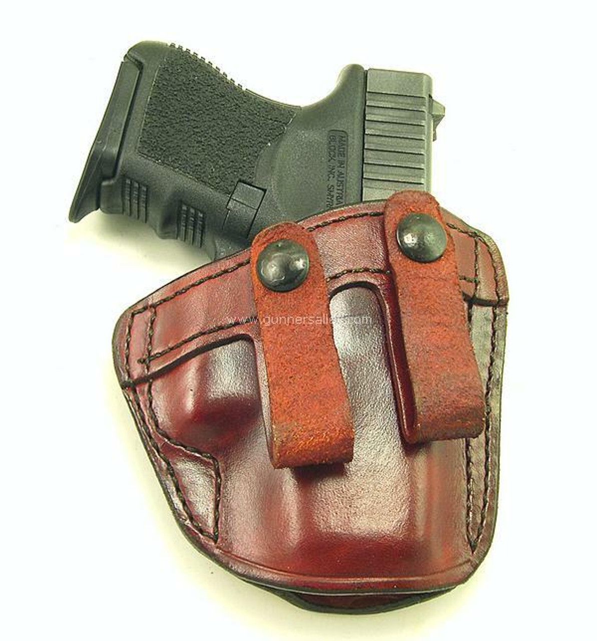 Front View - Shown with a Glock 26 model for Demonstration Purposes