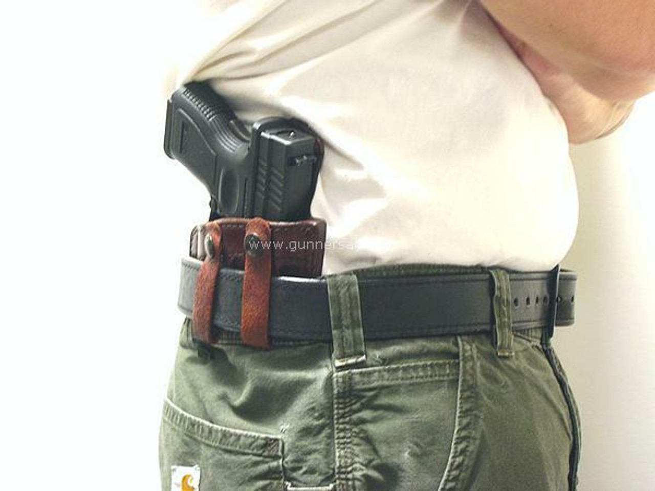 Shown on the Belt with a Springfield XD SubCompact 9mm for Demonstration Purposes