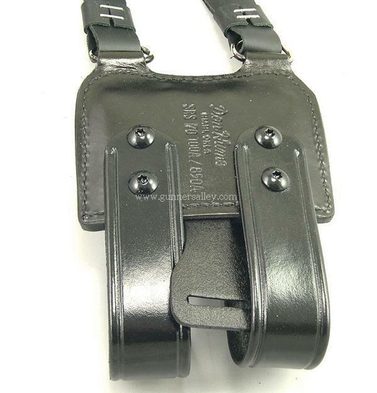 Don Hume H770AA Shoulder Holster with Double Magazine Carrier